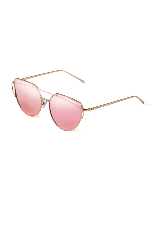 Okulary przeciwsłoneczne różowe złoto F136col.1